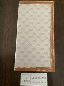Vintage Gucci Checkbook Cover