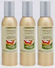 3 Yankee Candle CHRISTMAS COOKIE Concentrated Mini Room Spray Perfume 1.5 oz