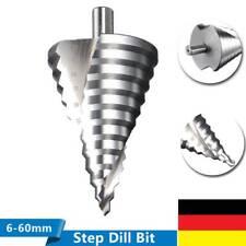 HSS Titan Stufenbohrer 6-60mm Konusbohrer Edelstahl Für Metall Fräser PV-Module