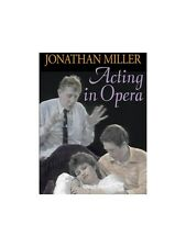 The BBC Acting Series Jonathan Miller Acting In Opera Learn to Play MUSIC DVD