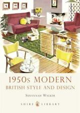 1950s Modern British Style Design Susannah Walker 2012 Paperback COLD WAR LONDON