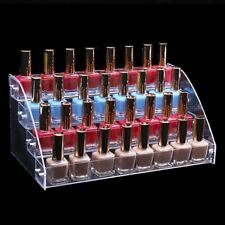Transparent Nail Polish Rack Multi layers Cosmetic Varnish Display Stand Holder