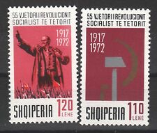 1972 Albania. Albanian Stamps. 55 Years of Russian Revolution. Mnh