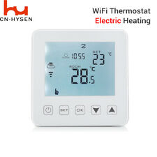 WiFi Programmable Thermostat Electric Touch Screen Wireless Alexa Room New KIT