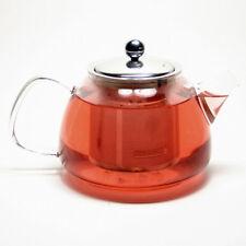 Glass Teapot  Stainless Steel Filter 1 liter (34 fl oz)