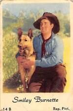 Movie Star Smiley Burnette Rep. Pict., dog, hunde, german shepherd