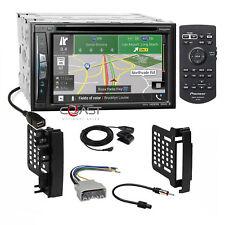 Pioneer DVD Carplay GPS Wifi Radio Dash Kit Harness for 07+ Chrysler Dodge Jeep