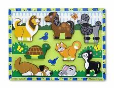 Melissa & Doug Pets Chunky Puzzle #3724 BRAND NEW