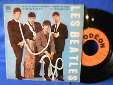 THE BEATLES WANT TO HOLD SOE 3745 EP ORIG FRANCE EXC
