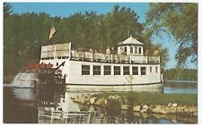 USA; Chief Waupaca Sternwheeler on Chain-O-Lakes PPC, Unposted, Paddle Boat