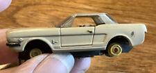"Vintage 1964 - 1965 Ford Mustang H.O. Slot Car 2 1/4"""