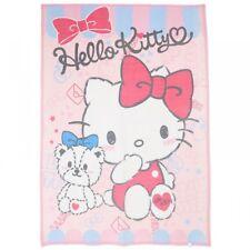 NEW Sanrio Hello Kitty Cotton Blanket Tiny Chum Pink Kawaii Japan Bedding F/S