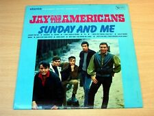 EX-/EX !! Jay And The Americans/Sunday And Me/1966 United Artists LP