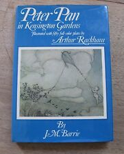 PETER PAN IN KENSINGTON GARDENS by J.M Barrie -HCDJ Arthur Rackham illustrations