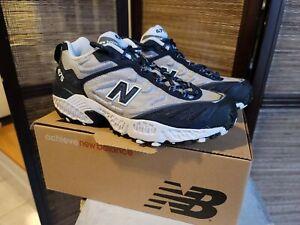 Men's New Balance Size 9 D 475 Blue Silver NIB EU 42.5