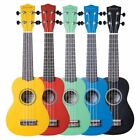 Savannah SU-ASST 10-Pack Soprano Ukuleles with Bags, Assorted Colors for sale
