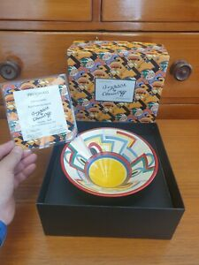 """Clarice Cliff - Wedgwood """"Tennis"""" bowl. Boxed + Certificate. Limited edition"""