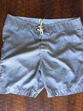 American Eagle Swim Trunks Board Shorts Gray Mens Size 40