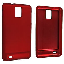Red Snap-On Hard Case Cover for Samsung Infuse 4G i997