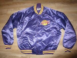 LA Lakers Los Angeles NBA Chalkline Basketball Jacket XL mens