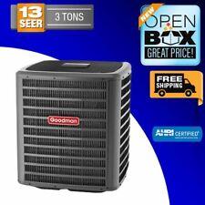 Goodman Air Conditioner Condenser 3 TON 13 SEER, GSX130361, Scratch & Dent, New