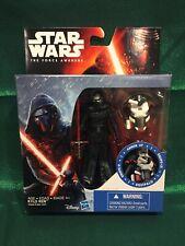 2015 Star Wars Force Awakens 3.75-Inch Figure KYLO REN Armor Up NIB