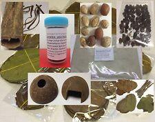 Seemandelbaum Set für Garnelen, Krebse & Co - Futter, Blätter, Rinde, Saatmandel