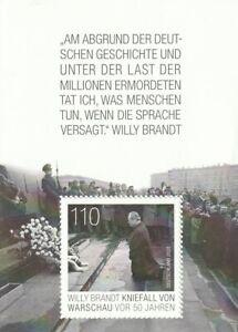 BUND Mi.Nr. 3579  / 2020 postfrisch Block 87 Kniefall von Warschau