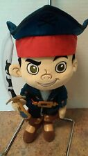 Disney Store Captain Jake Plush - Jake and the Never Land Pirates 12'' NWT