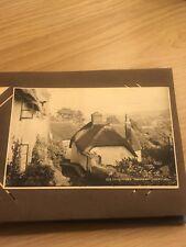 Vintage Postcard Collection Album Originals Stamped