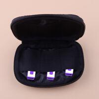Tragetasche Tasche für Kopfhörer Speicher USB Kabel Flash Laufwerk 6 Slots tp