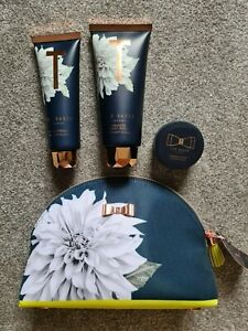 Ted Baker Toiletries bag   x3 products   Body wash + cream + souffle   New w/tag