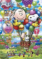 500 piece jigsaw puzzle PEANUTS Snoopy Balloon Flight 06-079s Epoch F/S w/Track#