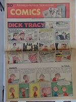Sunday Comics September 6 1970 Dick Tracy, Peanuts, Blondie  L4 102516DBE
