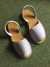 Ladies MINORCA Sandalo fatto a mano in lilla taglia EU 38