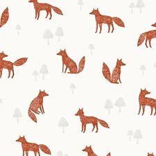 Dashwood Studio Fabric: Wild 1037 - Foxes