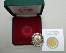 BELGICA 2011 2 EUROS AÑO INTERNACIONAL DE LA MUJER PROOF ESTUCHE OFICIAL PP.