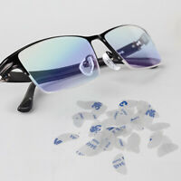 US 20 Pairs Anti-Slip Silicone Adhesive Sticky Nose Pads for Glasses Eyeglasses