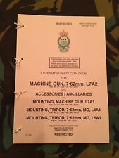 GPMG L7 GIMPY M240 BRAVO MAG 58 PARTS LIST FALKLANDS NORTHERN IRELAND SAS PARAS