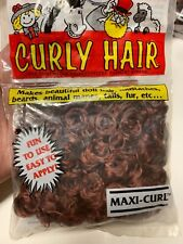 Vintage One & Only Creations Curly Doll Making Hair Auburn Brown Red Maxi Curl
