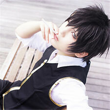 Gintama Hijikata Toushirou/My Little Monster Yoshida Haru Cosplay Short Wig Hair