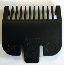 Wahl Clipper Attachment Comb Size 1 Black (3mm)
