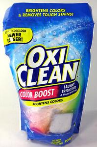 Oxi Clean Color Boost Color Brightener Plus Stain Remover Power Paks (26 Paks)