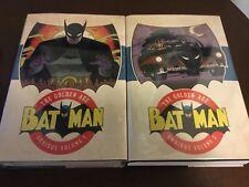Batman The Golden Age Omnibus Volume 1 & 2 DC Comics Batman Robin Catwoman