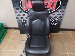 Cadillac SRX Front Passenger Seat Right Side Factory OEM Black Leather DVD