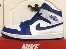 newest collection f79b5 06068 NIKE AIR JORDAN 1 MID TRAINERS SNEAKERS MENS SHOES UK 15 EUR 50,5 US