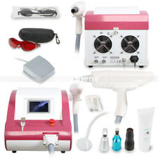 Q-Switch YAG LASER Tattoo Removal Eyebrow Flecks 1064/532/1320nm Beauty Machine