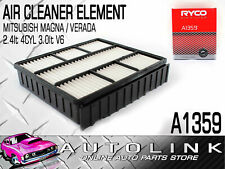 RYCO A1359 AIR FILTER FOR MITSUBISHI MAGNA TE TF TH TJ TL 2.4lt 3.0lt 3.5lt