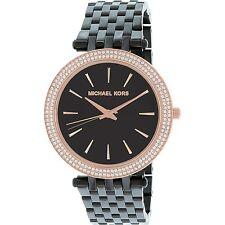 Michael Kors Women's Darci MK3407 Black Stainless-Steel Quartz Fashion Watch