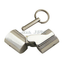 "Marine Stainless 7/8"" Boat Rail Fittings Folding Swivel Tube Pipe Connector"